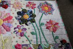 """Sew Little Fabric by Paula Storm: """"Summer Rain' my Modern Dresden Plate Quilt"""