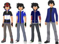Beautiful ♡ Ash Ketchum ^.^ ♡ Pokemon Ash And Serena, Ash Pokemon, Pokemon Stuff, Ash Ketchum, Danny Phantom, School Uniforms, Couple Cartoon, Anime, Dawn