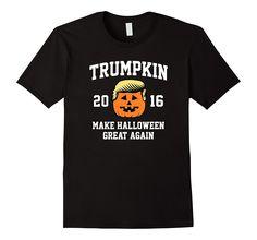 Trumpkin 2016 Make Halloween Great Again Funny Tshirt