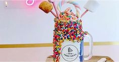 Quick & Easy Food Recipes at Hifow.com   New Territories NYC is serving up something you'll want to get your hands on: a unicorn milkshake called Unicorn Parade! It starts with a milkshake made from Van Leeuwen ice cream that receives an ube swirl when it gets poured in the sprinkle-laden...
