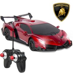 1/24 Officially Licensed RC Lamborghini Veneno Sport Racing Car W/ 27MHz Control #BestChoiceProducts