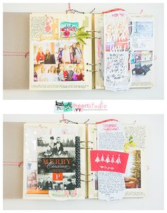 My December Journal by Wilna at @studio_calico