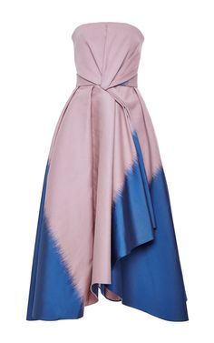 Chine Jacquard Bustier Dress by J. Mendel for Preorder on Moda Operandi