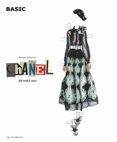 DOLLZ || Fashion Mixed Media Project by Viktorija Pashuta | BASIC Magazine
