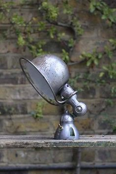 Antiques Young Guns, Young Guns, Brilliant Old Things from Bright Young Things Industrial Shop, Vintage Industrial, Industrial Style, Industrial Lamps, Desk Lamp, Table Lamp, Antique Lamps, Work Lights, Decoration