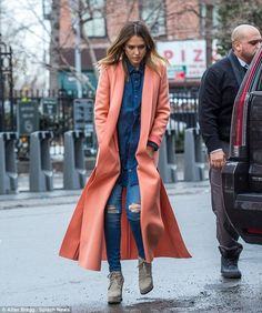 Coming soon: Jessica - seen out in New York on Tuesday - will next appear in VH1's Barely ...