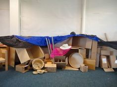 ABC Does Deconstructed role play area this is an idea I haven't seen before it looks similar to loose parts play