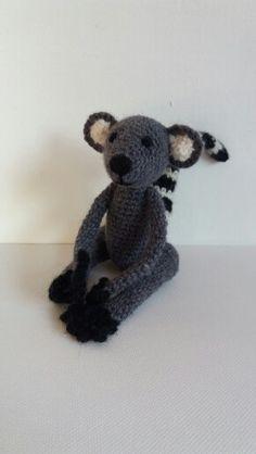 Lemur gehäkelt Teddy Bear, Toys, Animals, Amigurumi, Crochet Stuffed Animals, Activity Toys, Animales, Animaux, Clearance Toys