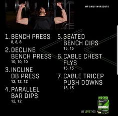 Gym Workout Chart, Hitt Workout, Workout Plans, Workout Routines, Workout Ideas, Belly Pooch Workout, Lower Belly Workout, Chest Workouts, Gym Workouts