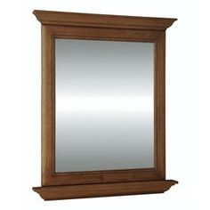 Diamond Fresh Fit Ballantyne 30-in W x 34-in H Rectangular Bathroom Mirror