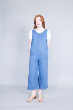 9d54159535e4 Odeyalo s  Junior  is a denim jumpsuit with a little vintage touch