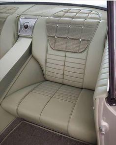 Custom Car Interior, Car Interior Design, Truck Interior, Automotive Design, Pontiac Cars, Car Upholstery, Custom Leather, Leather Interior, Custom Cars