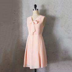 Madeline Dress Peach