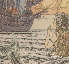 La petite sirène / Andersen ; enluminé par J. Bilibine   Gallica