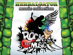 Free rock song of the Herbalgator Music Collection