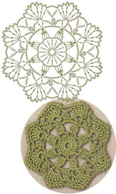No 35 serrated medallion lace crochet motifs 톱니모양 모티브도안 – Artofit Crochet Coaster Pattern, Crochet Mandala Pattern, Crochet Square Patterns, Crochet Circles, Crochet Blocks, Crochet Diagram, Diy Crochet, Crochet Crafts, Crochet Doilies