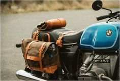 Pack Animal is a new brand from Seattle that craft beautiful Motorcycle Travel Goods with classic styling and timeless materials that look great on any bike. The vintage styled gear is made with the highest quality waxed twill and canvas paired with Motorcycle Camping, Camping Gear, Motorcycle Bags, Motorcycle Equipment, Bmw Motorcycles, Vintage Motorcycles, Royal Enfield, Motorcycle Saddlebags, Touring Bike