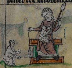 Stowe MS 17 1st quarter of the 14th century, Book of Hours, Use of Maastricht ('The Maastricht Hours') Folio 32r