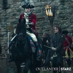 """New Official """"Photo"""" from 'Outlander' Season Three Featuring Jamie and Lord John Grey 