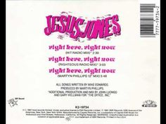 "Jesus Jones - Right Here, Right Now (Martyn Phillips 12"" Mix)"
