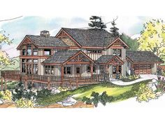 Waterfront Home Plan, 051H-0150