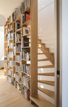 height loft with gorgeous stair . Fabulous double height loft with gorgeous stair .,Fabulous double height loft with gorgeous stair ., Loft,© Sonia Mangiapane and Peik Li Pang Inspiration Smart Ideas Under the Stairs That You Can Use in Your Home Architecture Design, Architectural Design House Plans, Loft Interior, Interior Stairs, Interior Design, Loft Stairs, House Stairs, Loft Railing, Stair Handrail