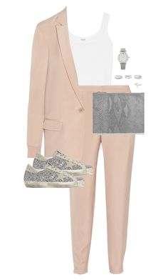 """Untitled #11382"" by alexsrogers ❤ liked on Polyvore featuring Splendid, TIBI, Maison Margiela, Golden Goose, Sophie Buhai, Jennifer Fisher and Larsson & Jennings"