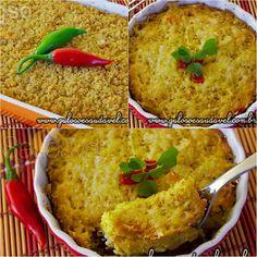 Sem ideias para o #almoço de domingo? Este Escondidinho de Frango com Couve Flor é delicioso, leve, econômico e super fácil!  #Receita aqui: http://www.gulosoesaudavel.com.br/2013/07/30/escondidinho-frango-couve-flor/