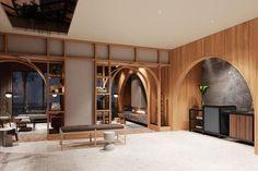 Kimpton Saint George - Toronto — Art and Objects Inc. Kimpton Hotels, Custom Carpet, Lobby Interior, Saint George, Hotel Website, Sense Of Place, Modern Artwork, Lobbies, Toronto