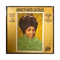 Aretha Franklin Gold Album Art