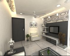Bedroom Lcd Wall Unit Designs