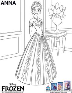Disneys Frozen Free Printables DisneyFrozen Coloring SheetsDisney