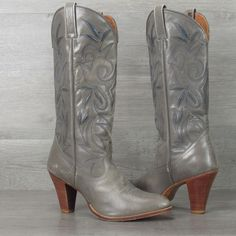 Vintage Dan Post Cowgirl Boots 8.5 M
