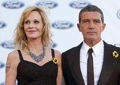 米女優メラニー・グリフィスさん(左)とスペイン人俳優アントニオ・バンデラスさん夫妻=2011年8月、スペイン南部エステポナ(EPA=時事) ▼7Jun2014時事通信|メラニー・グリフィスさん離婚=米 http://www.jiji.com/jc/zc?k=201406/2014060700281 #Melanie_Griffith #Antonio_Banderas #Estepona