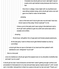 This drunk-girl appreciation:   19 Pure And Perfect Tumblr Posts About Female Friendships