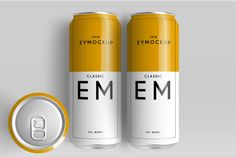Big Beer Can Design Presentation Mockups for Photoshop to showcase and promote your custom designs.Easy to place your designs using smart objects, Food Packaging Design, Beverage Packaging, Bottle Packaging, Coffee Packaging, Packaging Ideas, Branding Design, Graphic Design Templates, Coffee Design, Best Beer