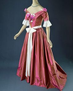 """""""Dress worn by Emily Blunt in The Young Victoria, 2009. Costume design by Sandy Powell.  Larry McQueen Collection """""""