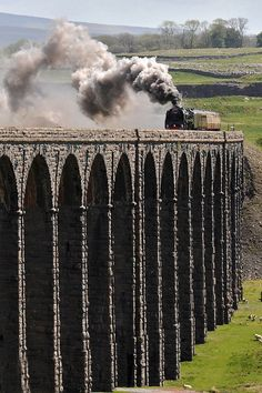 71000 THE DUKE | Beginning its traverse of Ribblehead viaduct on May 19th 2011, Gloucester