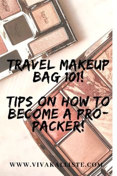Make sure to have fun while you pack and don't overthink this. Don't stress because I've got you covered with some amazing tips on how I like to pack my makeup travel bag! X  #beauty #blogger #bblogger #makeup #travel
