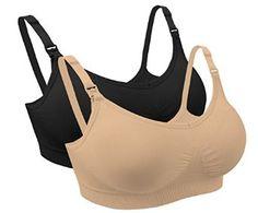 c4e3fd7a1451e iLoveSIA 3PACK 2PACK Womens Seamless Nursing Bra Bralette at Amazon Women s  Clothing store