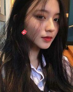 I am deep dark mysterious beauty Ulzzang Korean Girl, Cute Korean Girl, Girl Korea, Asia Girl, Typical Girl, Uzzlang Girl, Just Girl Things, Aesthetic Girl, Beautiful Asian Girls