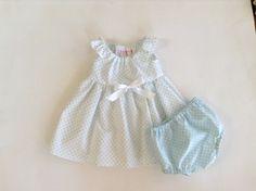 Polka+Dot+Premature/Preemie+Baby+Dress+Flutter+by+ShesSoPrecious