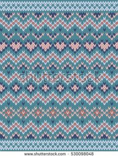 Find Seamless Fair Isle Knitted Pattern Festive stock images in HD and millions of other royalty-free stock photos, illustrations and vectors in the Shutterstock collection. Fair Isle Knitting, Loom Knitting, Knitting Stitches, Knitting Designs, Knit Patterns, Stitch Patterns, Tejido Fair Isle, En Stock, Color Schemes