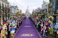 On my bucket list: Disneyland Paris