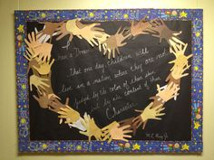 15 Ideas for black history month bulletin board ideas hands Classroom Displays, Classroom Themes, Classroom Activities, Kindness Activities, Classroom Design, Bulletin Board Display, Classroom Bulletin Boards, Preschool Bulletin, Diversity Bulletin Board