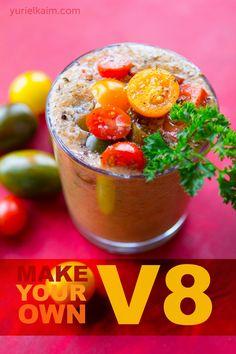 1000 Ideas About V8 Juice On Pinterest Homemade V8