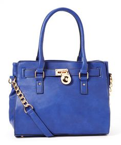 This MKF Collection Royal Blue Plora Tote by MKF Collection is perfect! #zulilyfinds