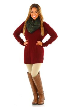 Pirate's Life For Me Sweater: Burgundy