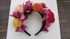 How to make a Frida Kahlo Flower Crown AvT - Auriette van Tastik