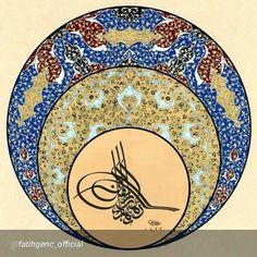 "By @fatihgenc_official ""#fatihgenc #geleneksel #tezhip #ottomanart #art #gilding #turkishart #tazhip #handmade #arabic #hat #hilye #elsanatlari #illumination #gold #islamic #islamicart #desen #rumi #istanbul #turkey"" via @PhotoRepost_app   by sheroart1"